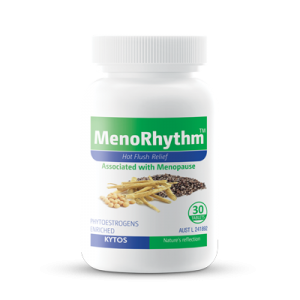 MenoRhythm Tablets, Hot flush relief