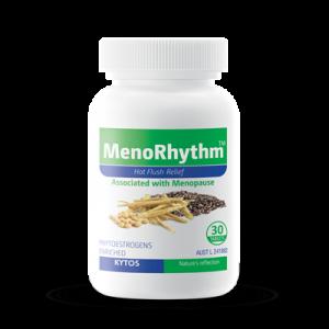 MenoRhythm Tablets, Hot flush relief